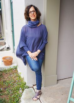 how much are we in love with this silk top from m italia?! too much. plus comes with the scarf- bonus!
