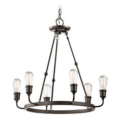 Kichler Lighting Kichler Lighting Lucien Olde Bronze Chandelier | 42708OZ | Destination Lighting