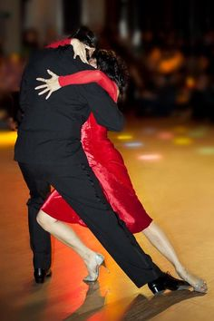 Passion!!! If you feel like this when you dance with him you are wealthy beyond measure.