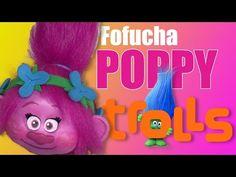 Como hacer cabeza fofucha Poppy Trolls - How to make Poppy Trolls head - YouTube