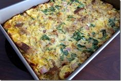 Easy and Healthy Breakfast Casserole