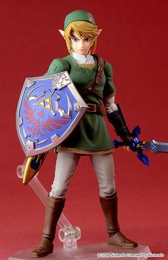 "Link Figma The Legend of Zelda: Twilight Princess"" version"