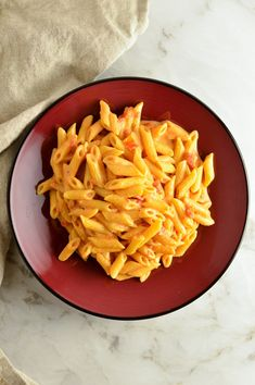 Penne Alla Vodka | A Taste of Madness Healthy Appetizers, Healthy Breakfast Recipes, Lunch Recipes, Healthy Dinner Recipes, Pasta Recipes, Healthy Snacks, Vegetarian Recipes, Penne Alla Vodka, Vegan Pumpkin