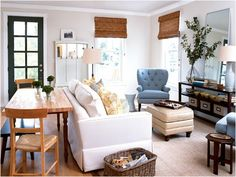 5 Tips For Decorating A Combined Living U0026 Dining Room | Living Room Dreams  | Pinterest | Narrow Living Room, Living Dining Combo And Rectangular Living  ...