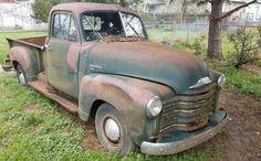Ran When Parked: 1951 Chevrolet 3600 Gmc Pickup Trucks, Pickup Trucks For Sale, Vintage Pickup Trucks, Classic Pickup Trucks, Old Pickup, Chevrolet Trucks, Antique Trucks, Chevrolet Silverado, Ford Trucks