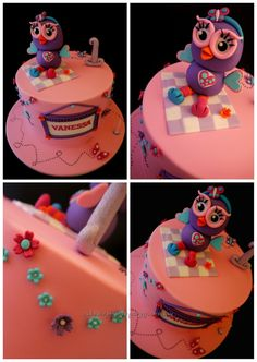 Gallery - Cake Me To Your Party - Buy Custom Allergy Free Decorated Cakes First Birthday Parties, First Birthdays, Birthday Ideas, Birthday Cake, Owl Cakes, Food Intolerance, Allergy Free, Childrens Party, Celebration Cakes