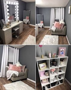 Amazing and Marvelous Spiderman Bedroom Furniture You'll Lov.- Amazing and Marvelous Spiderman Bedroom Furniture You'll Love Glam room - Room Makeover, Room Ideas Bedroom, Beauty Room, Glam Room, Home Decor, Room Inspiration, Apartment Decor, Room Decor, Bedroom Wall Colors