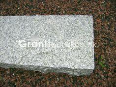 Grå kantsten granit 100x20x6, 30 stk