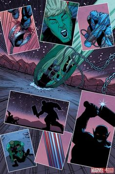Check out Young Avengers #3 by Kieron Gillen and Jamie McKelvie! Should the team trust Loki?    http://marvel.com/news/story/20220/sneak_peek_young_avengers_3