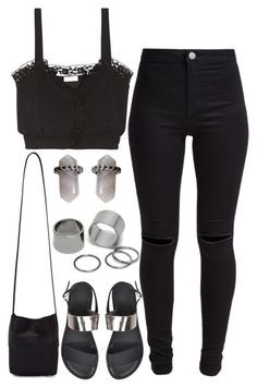 """""""897."""" by adc421 ❤ liked on Polyvore featuring Rick Owens, New Look, Sonia Rykiel, Mudd and Pieces"""