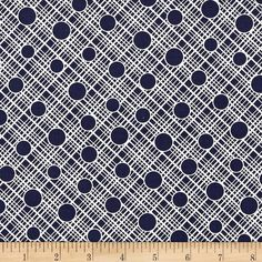 Michael Miller Vintage Florals Babs Navy from @fabricdotcom  Designed for Michael Miller, this cotton print fabric is perfect for quilting, apparel and home decor accents. Colors include white and navy.