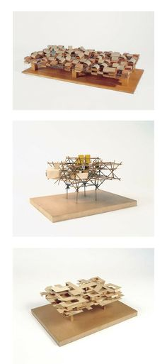 + Proyecto: Ville Spatiale, 1960 + Arquitecto: Yona Friedman: