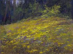 SpringFlowers by Kathy McDonnell was selected as Outstanding Pastel in the August 2013 BoldBrush Painting Competition.