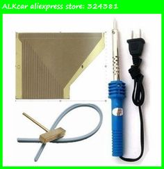 ALKcar Opel Astra Instrument Pixel Repair Ribbon Cables+1set T-Head w Teflon Cable for Electronic Soldering Iron