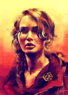 beautiful Katniss rendition.