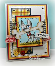 Can you say????.....Addicted(to stamps)!!!: Kraftin' Kimmie Saturday Challenge-Animals