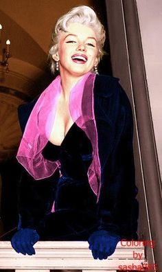 Marilyn Monroe in Colour is also on Facebook.
