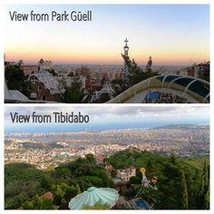 #Tibidabo #Barcelona #ParcGüell #Dalí Barcelona, Take A Break, City Break, Productivity, Skyline, Park, Lifestyle, Places, Tips