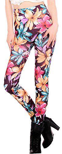 FunLeggings Women's Colorful Lilies Print Leggings FunLeggings http://www.amazon.com/dp/B00N17YEVU/ref=cm_sw_r_pi_dp_X.nOub0YHPZ8X