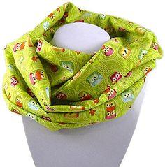 Kinder-Loop Schlauchschal EULEN auf grün - 100% Baumwolle - bettina bruder® bettina bruder http://www.amazon.de/dp/B016QR8BL0/ref=cm_sw_r_pi_dp_aLsiwb12A93WG