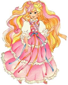 80 39 s cartoon characters girl cartoons of the 80s when for Lady lovely locks coloring pages