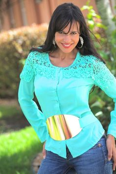 Buy this Barnia #top only for $15.00. *Available in small size.