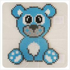 Teddy hama beads by misscarstensen