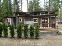 What a lovely tiny house in the woods!  wildwood-cottage-6