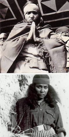 Also known as the Bandit Queen, Phoolan Devi married at the age 11 to a man three times her age, but was abandoned by her husband and her family after the marriage broke down. In her 20s she was subjected to numerous sexual assaults and turned to a life of crime, wherein she murdered 22 men in revenge for being gang raped.