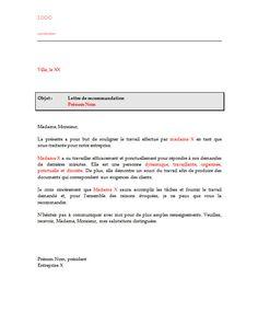 Lettre De Recommandation Job Line Chart Letters
