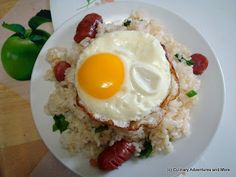Culinary Adventures and More: (Almost) Anime Food Re-creation: K-On!!-inspired Fried Rice