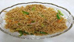 American chopsuey, This recipe created with the help of the noodles which is very tasty and healthy dish, you can take as a snacks and starters course of the meals.