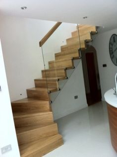 Wooden stairs, How To Build Stairs, Your Enquiry Concrete Staircase, Deck Stairs, Wooden Stairs, Deck Construction, Interior Stairs, Building A Deck, Made Of Wood, Easy, Staircases
