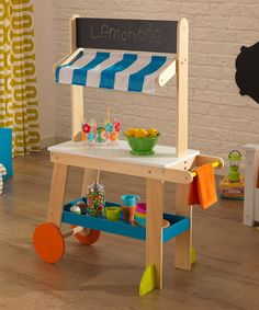 This Lemonade Stand Set is perfect! #zulilyfinds