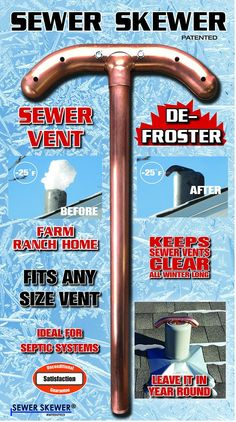 Sewer Skewer How To Clear A Sewer Vent Pipe How To