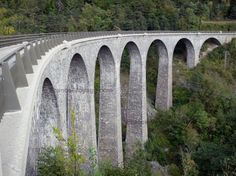 Viaduc de la Bonne, Valbonnais, Isère, Rhône-Alpes, France