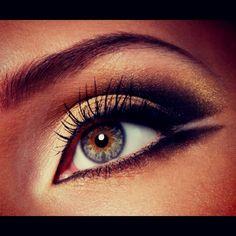 Smoky Eye Make Up for Hazel Eyes