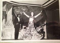 Me at tablao Cafe de Chinitas in Madrid Spain. 1970
