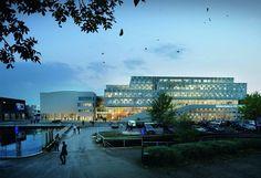 3XN wins University Building in Sweden
