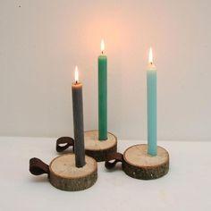 Afbeeldingsresultaat voor knutselen met houtschijven kerst
