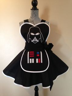 A fan of Star Wars A fan of Darth Vader This apron by AriaApparel