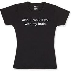#ThinkGeek                #ThinkGeek                #Kill #With #Brain #Babydoll                        Kill You With My Brain Babydoll                                               http://www.seapai.com/product.aspx?PID=1805433