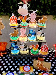 Farm Animals Birthday Party candy treat jars for birthday gift birthday favor or birthday raffles Farm theme Candy Favors Birthday SET OF 12
