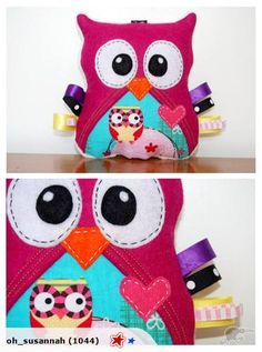 Handmade Hanging Owl (Custom Made)