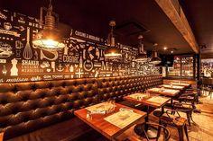 SHAKER #surmesure #lusine #shaker #quebec #restaurant #bar #mixologie #commercial #banquettes #luminaires