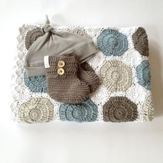 Wonderful winter baby boy or girl gift.This collection contains a crochet blanket, cotton beanie hat, and crochet booties. Adorable!Blanket is 95x70cm perfect for pram, bassinet or cuddles!Available in pink and blue as shown.Hat is newborn size and booties to fit 0-6mths.