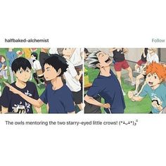 I never noticed Kageyama had interacted with Akaashi, its so cute!