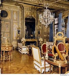 "Hotel Lambert, Drawing Room in the apartment of ""Alexis von Rosenberg"" - Google Search"