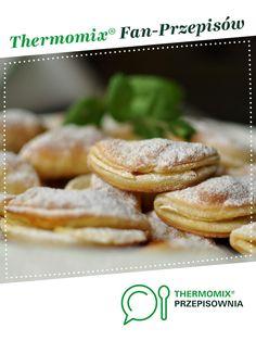 SEROWE CAŁUSKI Z JABŁKAMI jest to przepis stworzony przez użytkownika Joaśka78. Ten przepis na Thermomix<sup>®</sup> znajdziesz w kategorii Słodkie wypieki na www.przepisownia.pl, społeczności Thermomix<sup>®</sup>. French Toast, Breakfast, Food, Bakken, Morning Coffee, Essen, Meals, Yemek, Eten