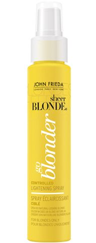 <3 Sheer Blonde® Spray Éclaircissant Ciblé Go Blonder: works just as well as dying my hair.... Use sparingly though